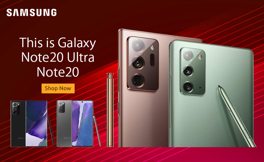 Buy Samsung Galaxy Note 20 and Note 20 Ultra Online in Nigeria