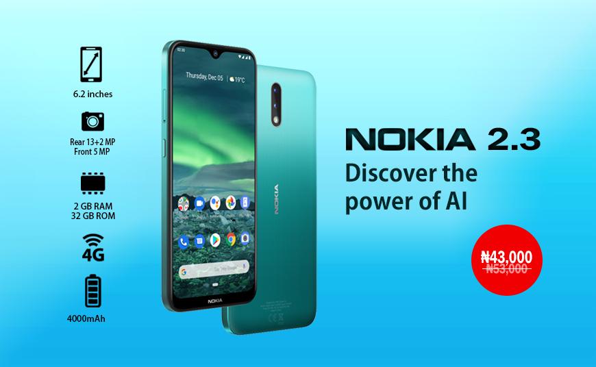 Buy Nokia 2.3 phone online in Nigeria