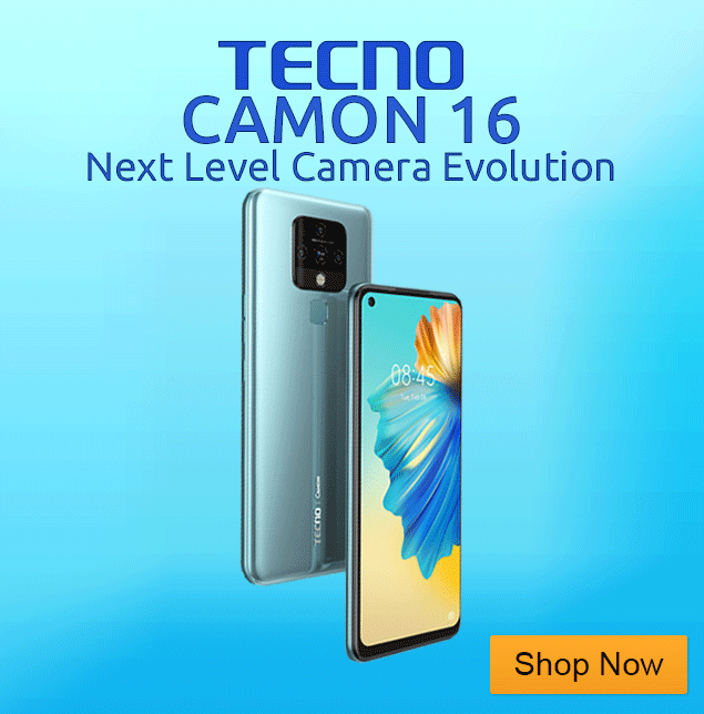 Tecno Camon 16 Price in Nigeria